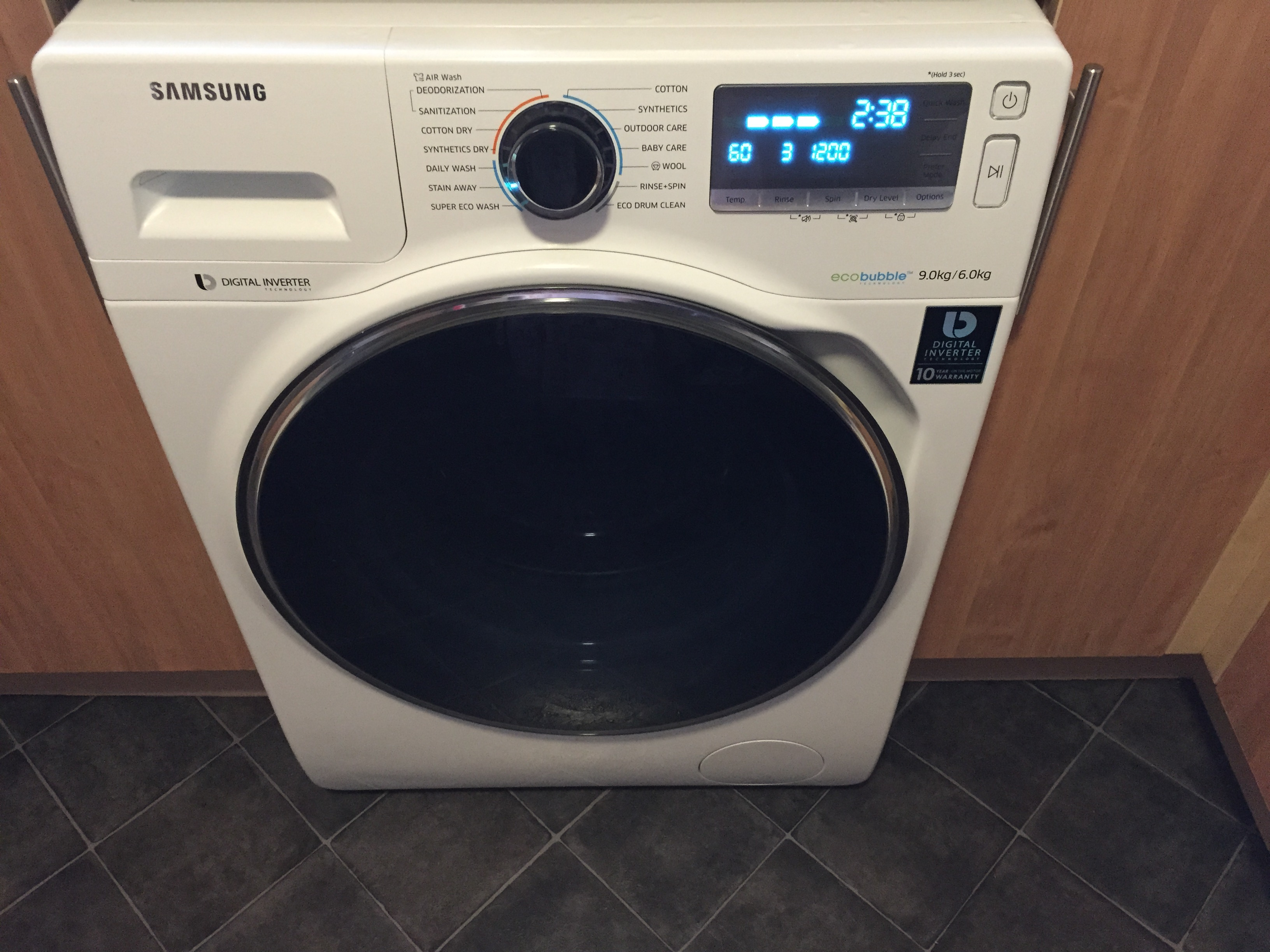 samsung ecobubble washer dryer review for 2mumsviews. Black Bedroom Furniture Sets. Home Design Ideas