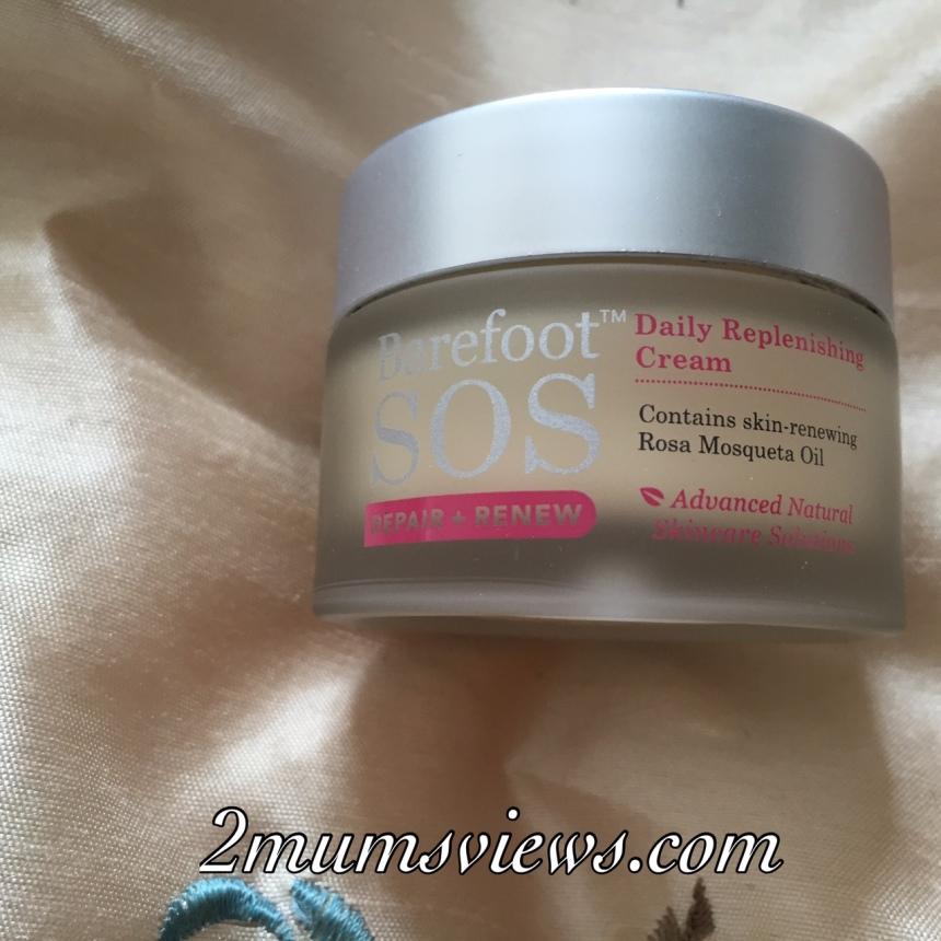 Barefoot SOS Repair & Renew Daily Replenishing cream
