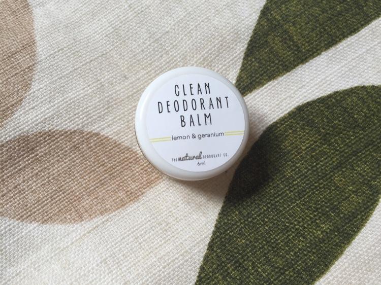 Natural Deodorant Co Lemon Geranium sample