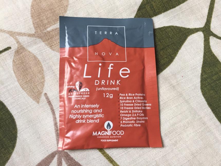 Terranova Life Drink Sachet sample 12g