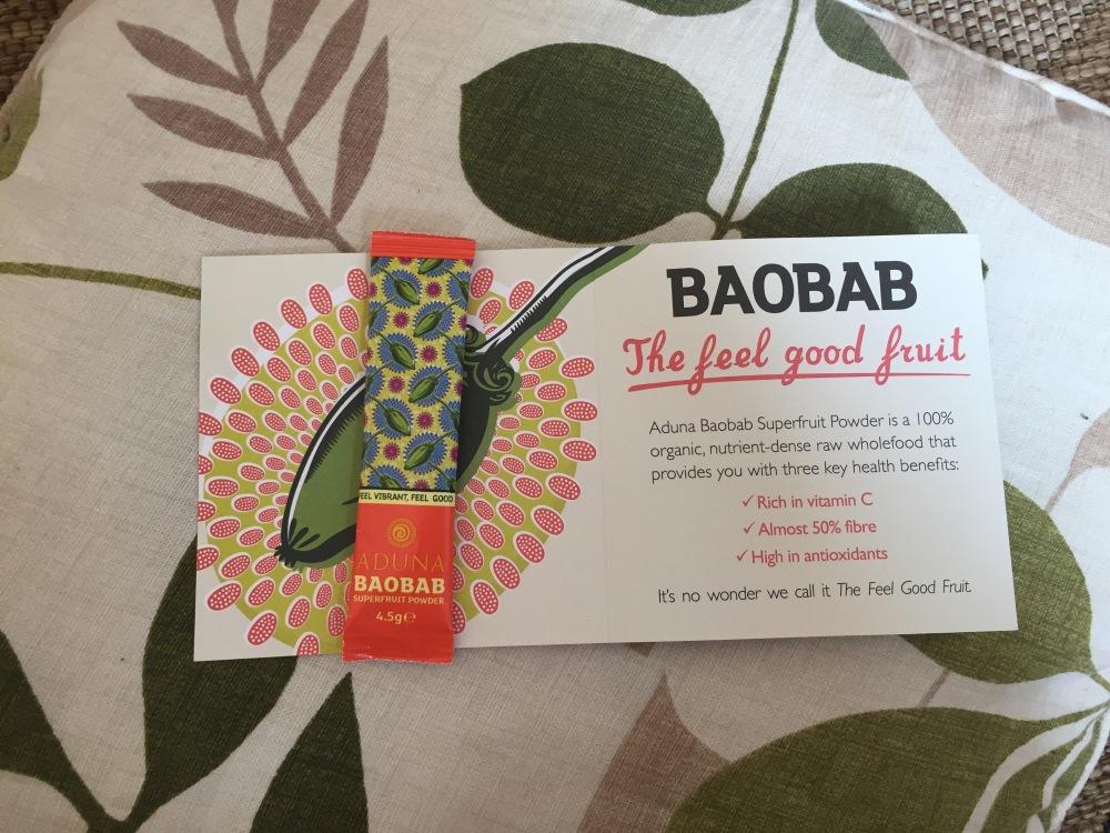 Aduna Baobab Superfruit Powder sample 4.5g