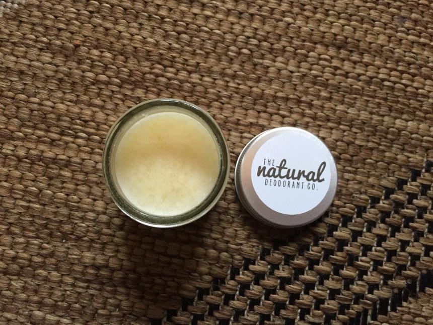 Natural deodorant co clean deodorant balm vanilla manuka