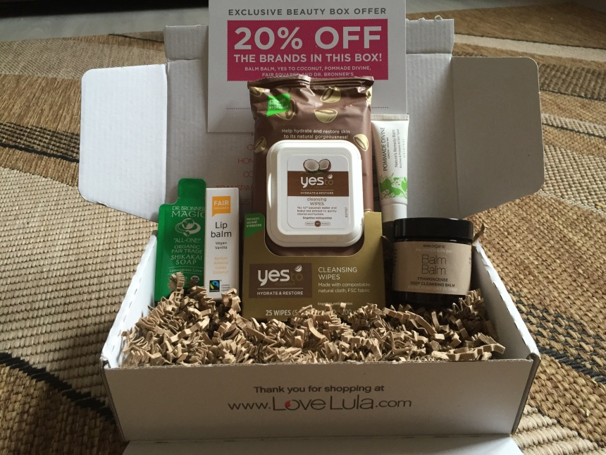 LoveLula Beauty Box October 2015