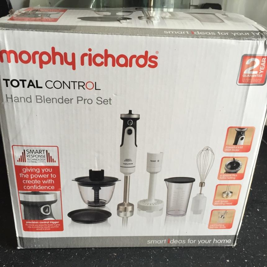 Morphy Richards total control blender set