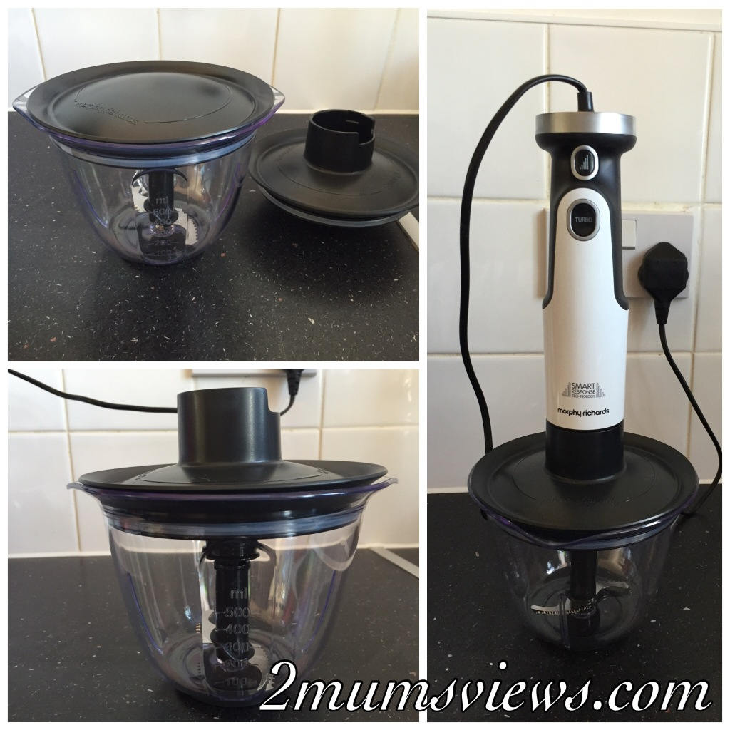 Morphy richards total control blender