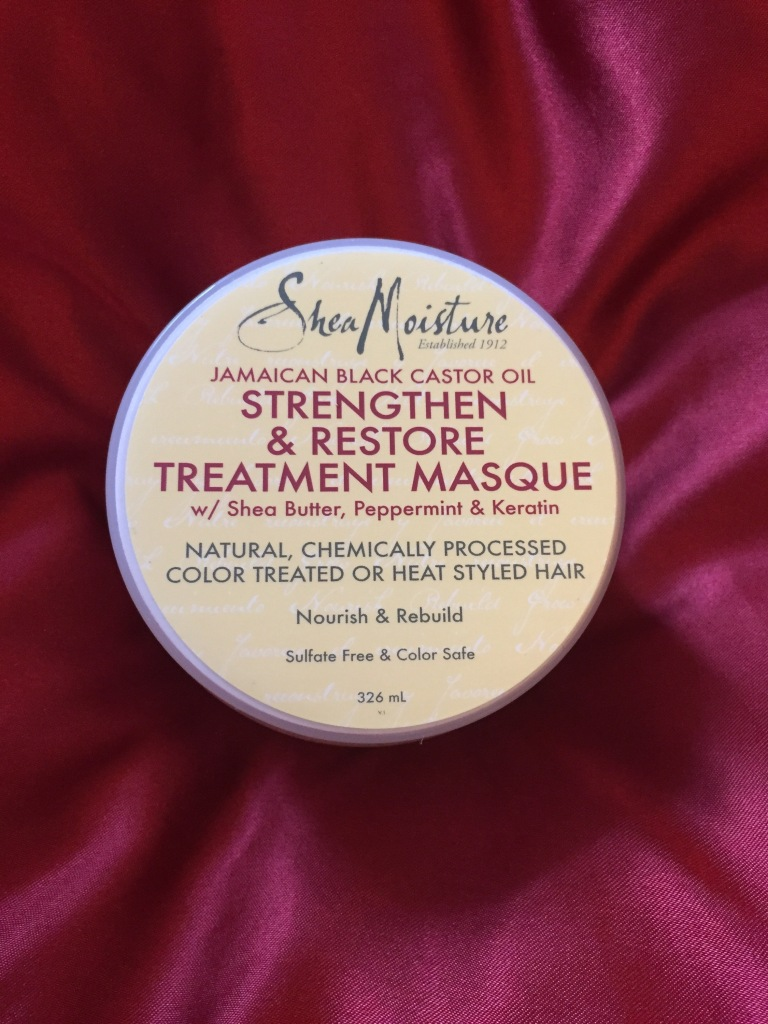 Shea Moisture Jamaican Black Castor Oil Strengthen & Restore Treatment Masque