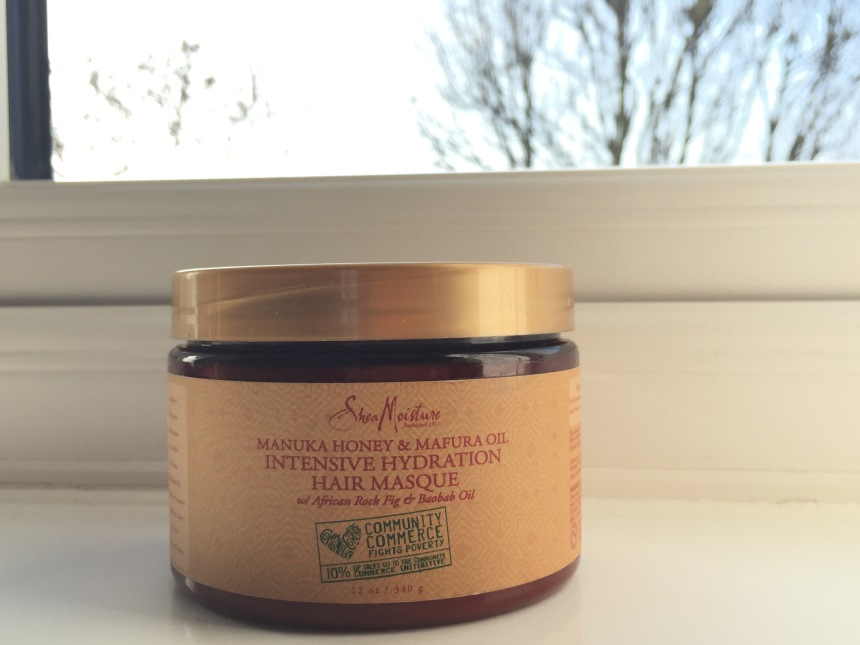 Shea moisture manuka honey & mafura oil intensive hydration hair masque