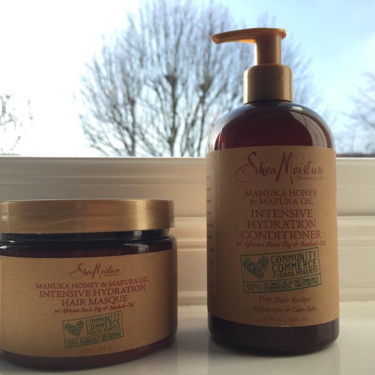 Shea moisture manuka honey & Mafura oil