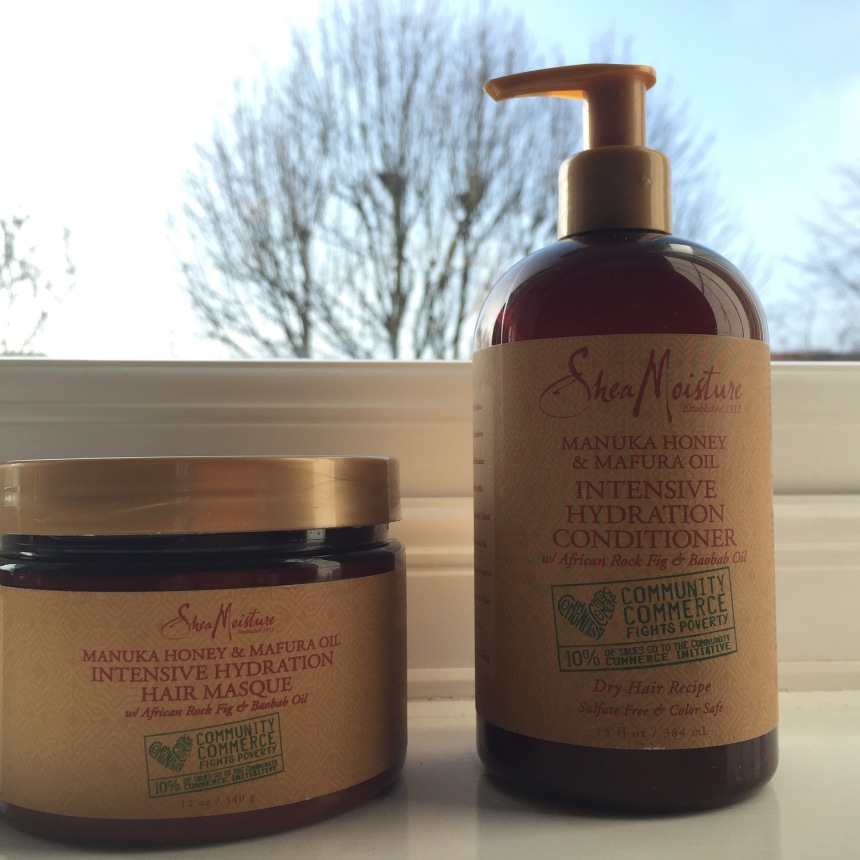 Shea moisture manuka honey & Mafura oil