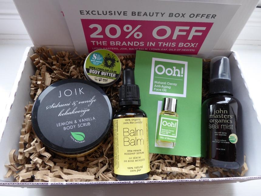 LoveLula beauty box May 2016