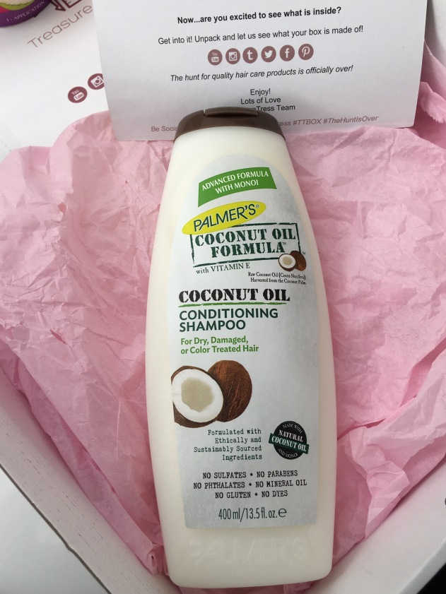 Palmers Coconut Oil conditioning shampoo