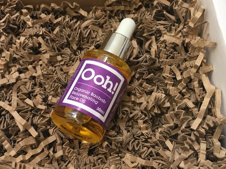 Ooh! oils of heaven organic baobab rejuvenating face oil