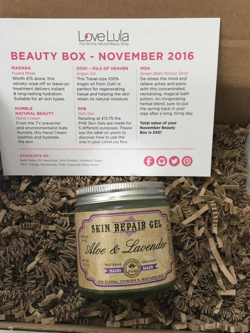 PHB Ethical Beauty Skin Repair Gel with Aloe & Lavender 120ml