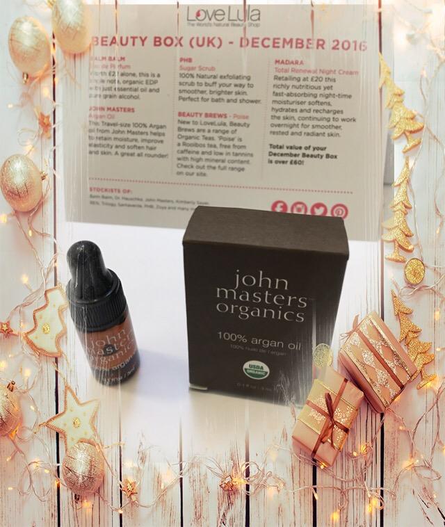 John Masters organics 100% argan oil