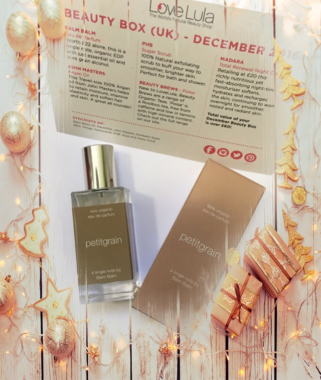 Balm balm petitgrain perfume