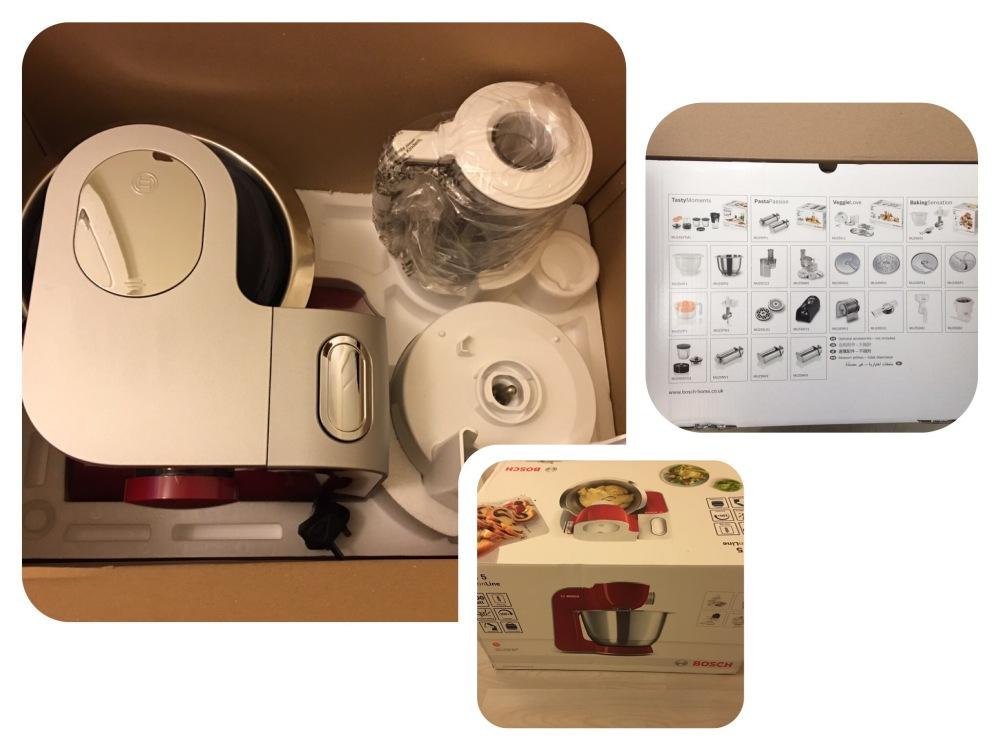 Bosch MUM58720GB kitchen machine