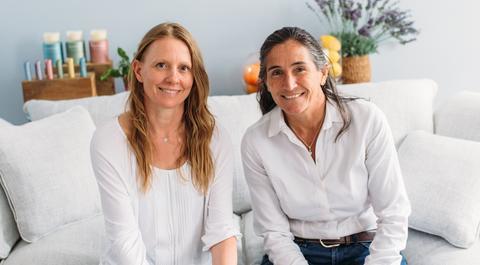 Fay Pottinger and Lara Morgan
