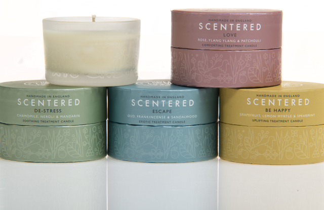 scentered candles