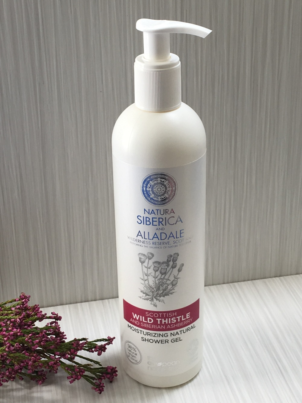 Natura Siberica and Alladale Moisturizing Natural Shower Gel