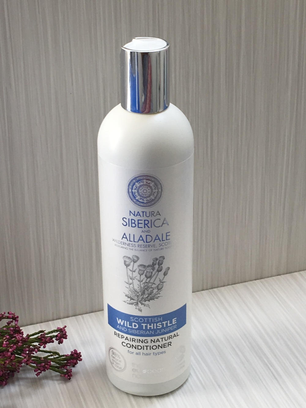 Natura Siberica and Alladale Repairing Natural Conditioner