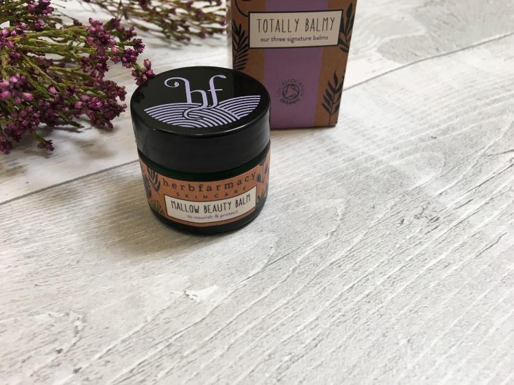 Herbfarmacy mallow beauty balm
