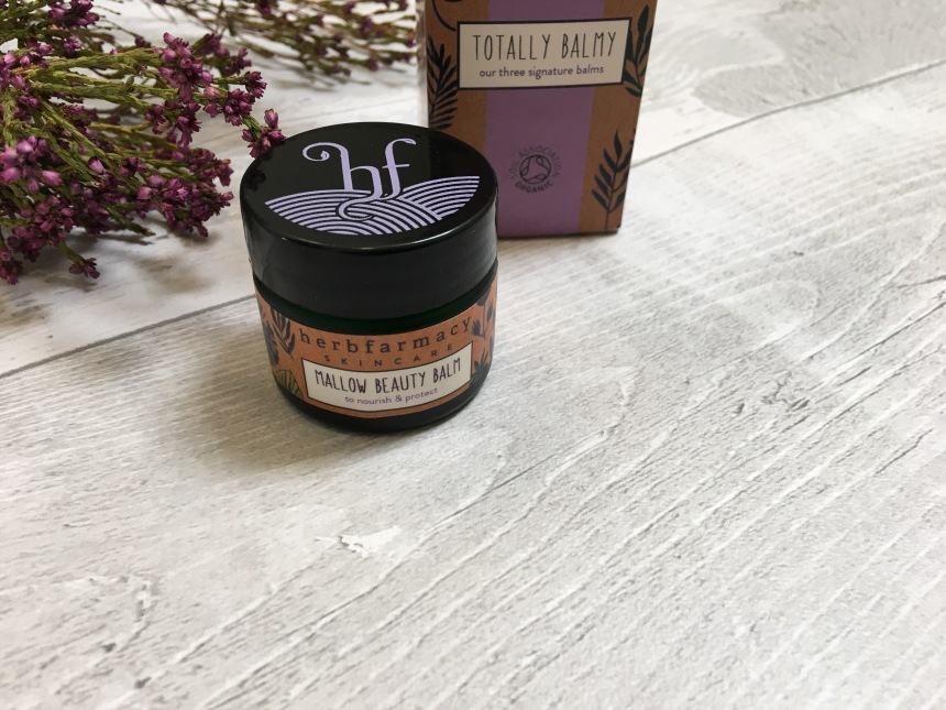 Herbfarmacy mallow beauty balm