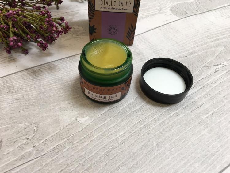 Herbfarmacy skin rescue balm