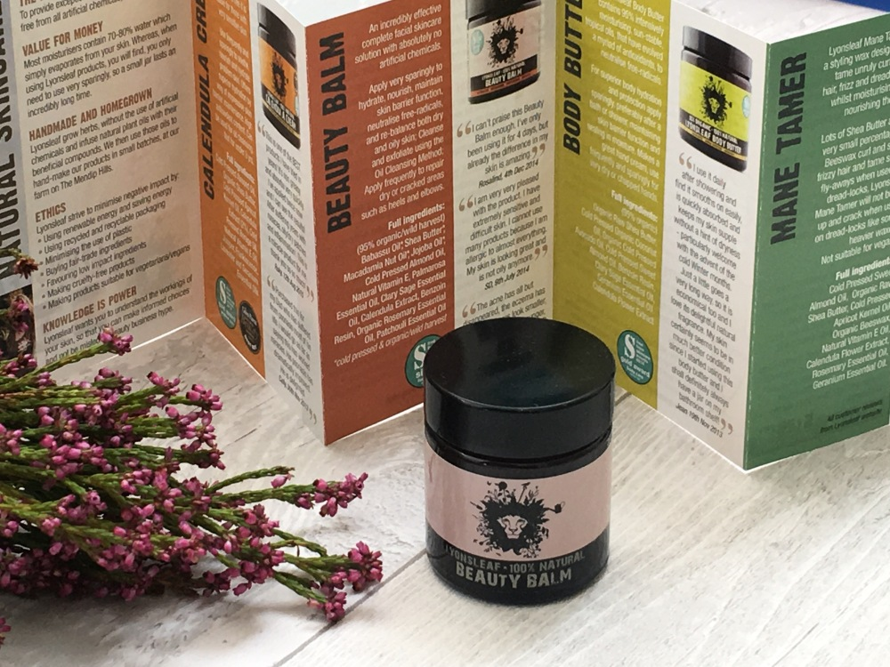 Lyonsleaf 100% natural beauty balm