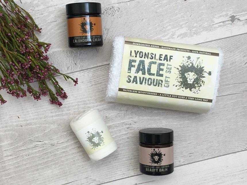 Lyonsleaf 100% Natural Body and Face Gift Set