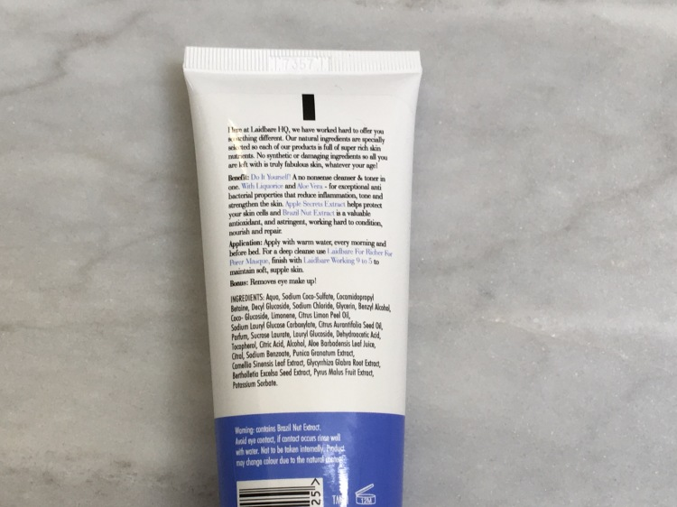 Laidbare DIY! Two In One Cleanser & Toner