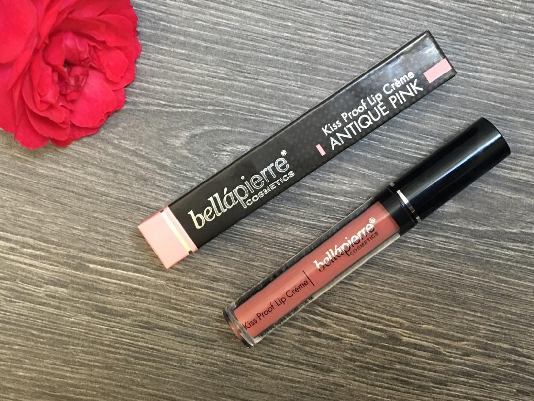 Bellapierre Kiss Proof Lip Crème Shade: Antique Pink