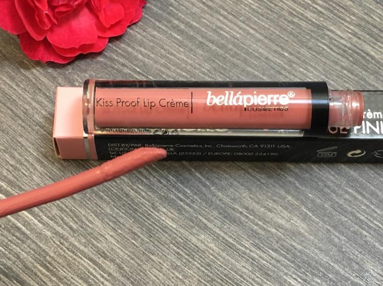 Bellapierre Kiss Proof Lip Crème Shade: Antique Pink 3.8g