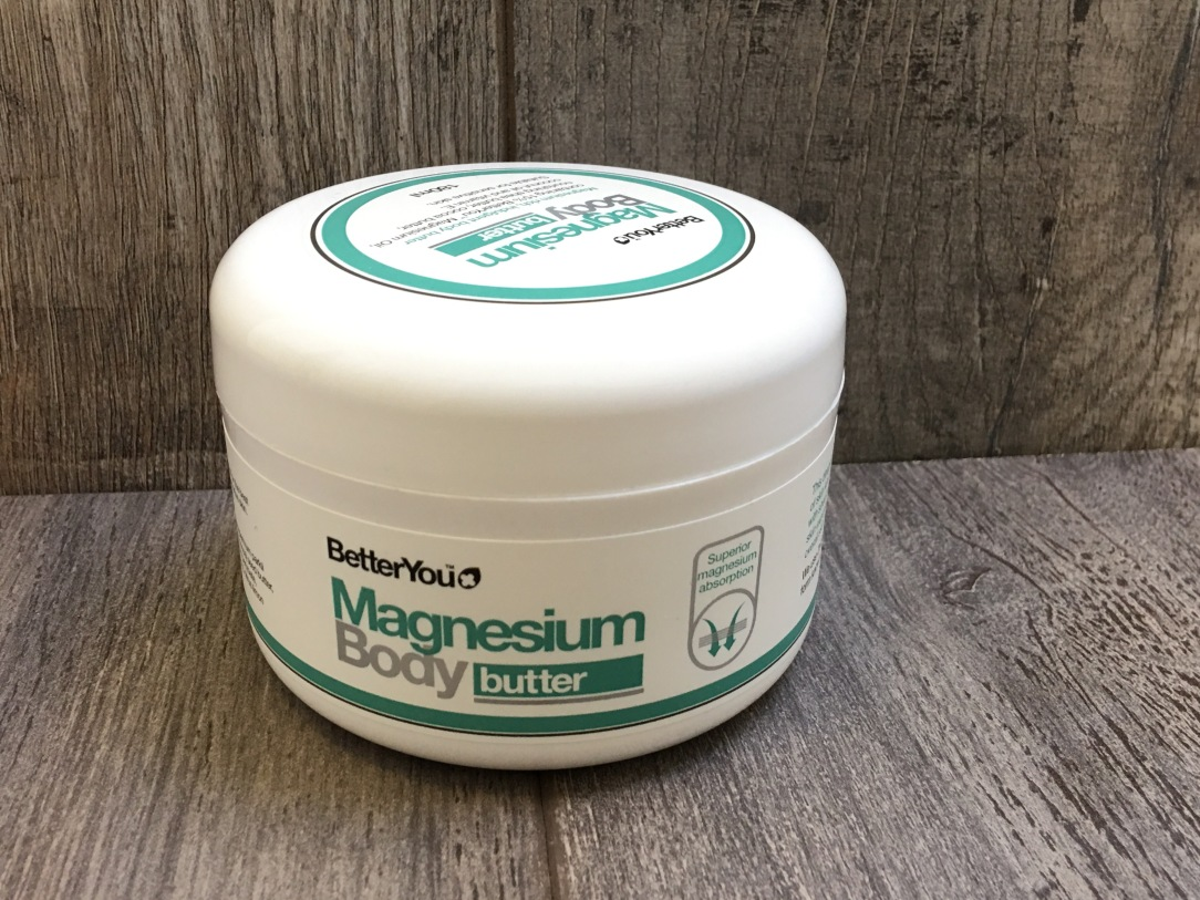 BetterYou magnesium body butter