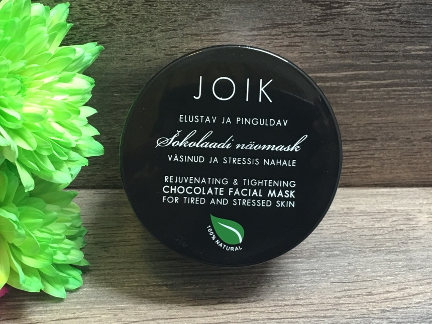 Joik Rejuvenating and tightening chocolate facial mask