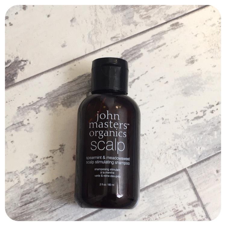 John Masters Organics Travel Size Spearmint & Meadowsweet Scalp Stimulating Shampoo 60ml