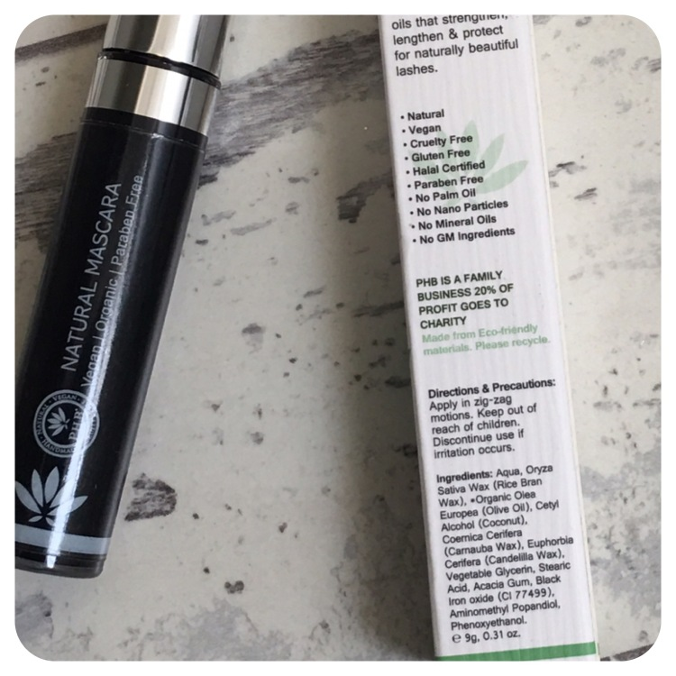 PHB Ethical Beauty Black All-In-One Natural Mascara