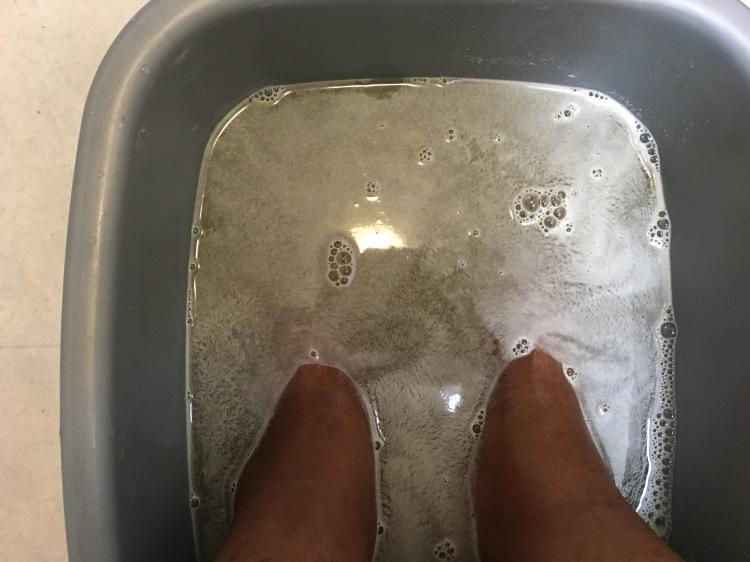 JOIK Warming foot bath salt with ginger & mustard