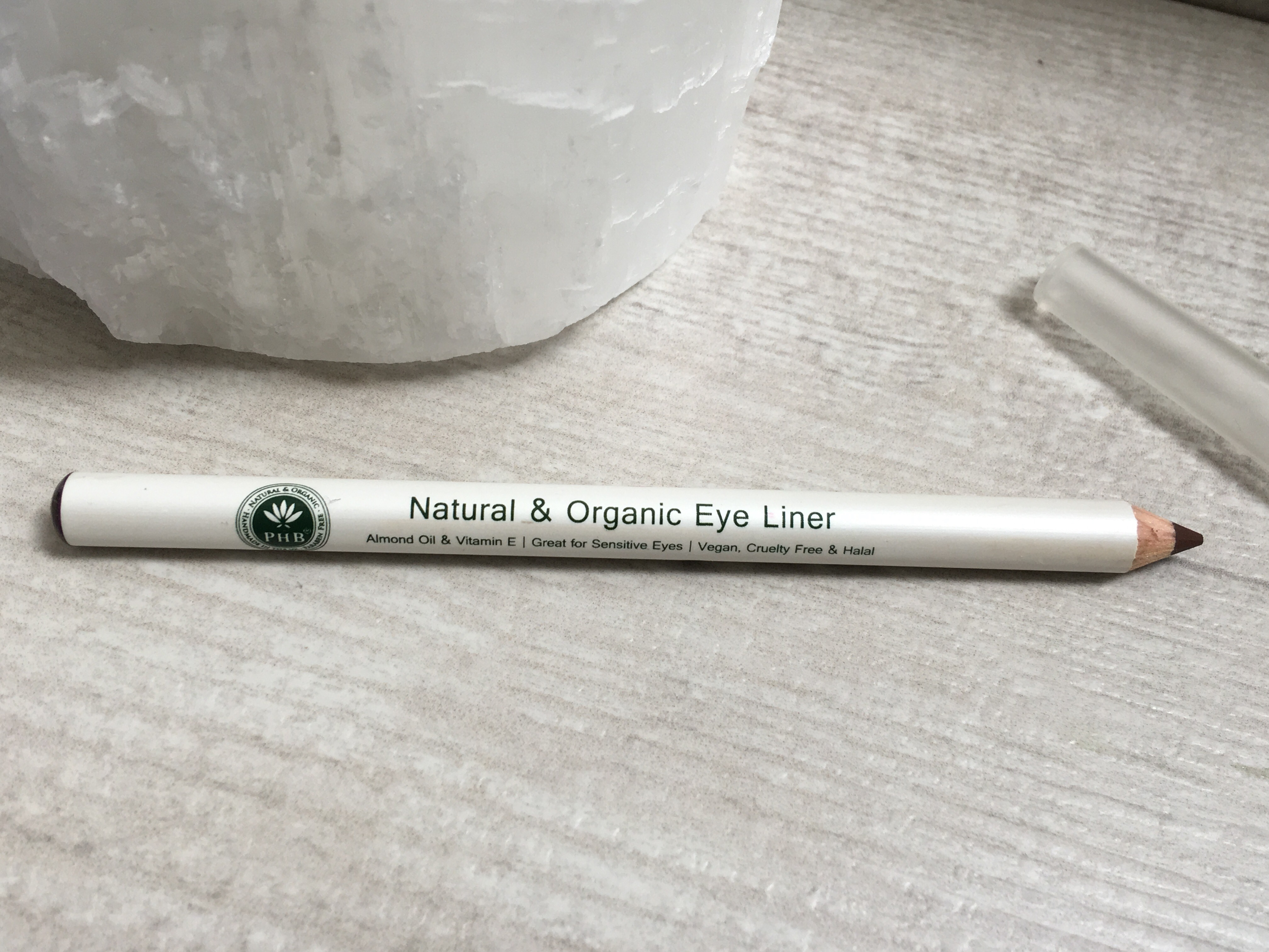 PHB Ethical Beauty Natural Organic Pencil Eyeliner in Brown 4g