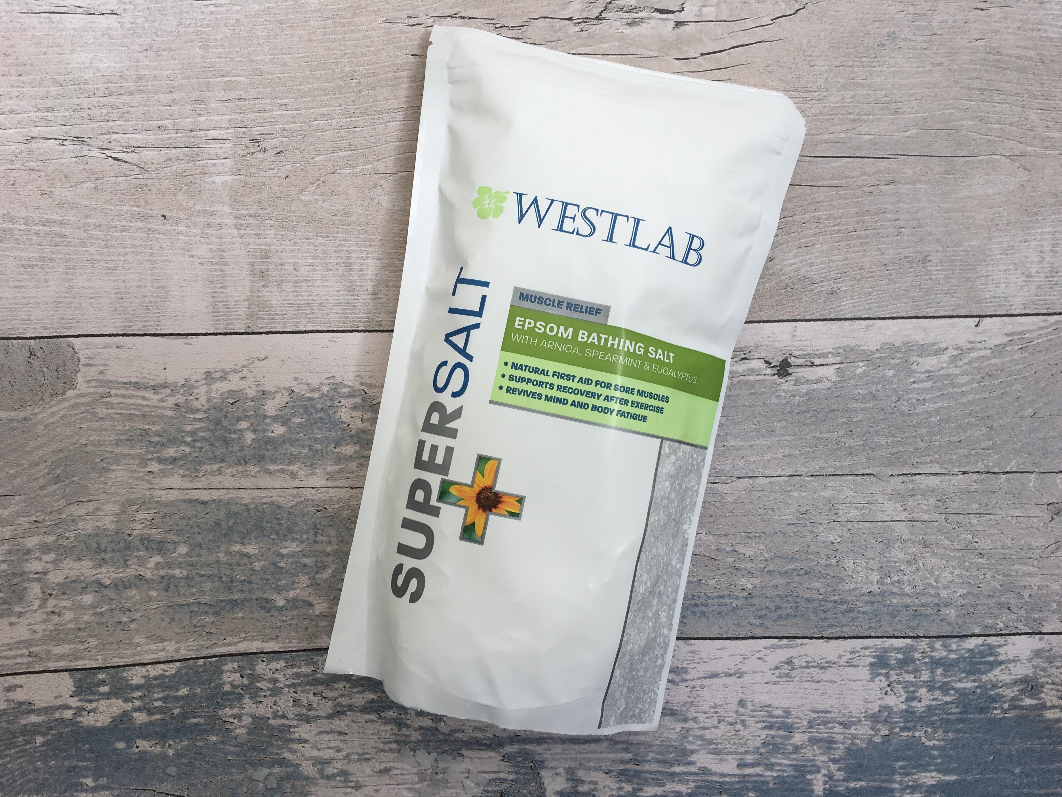 Westlab muscle relief Epsom bathing salt