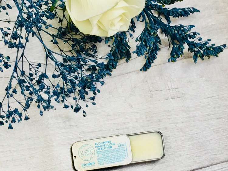 Lucky cloud skincare blooming marvellous lip butter