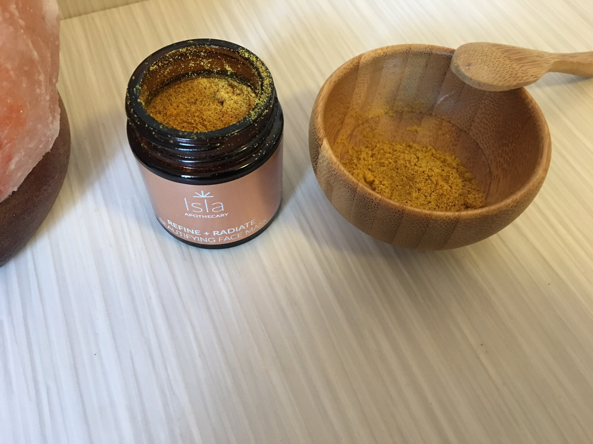 Isla apothecary refine + radiate beautifying face mask