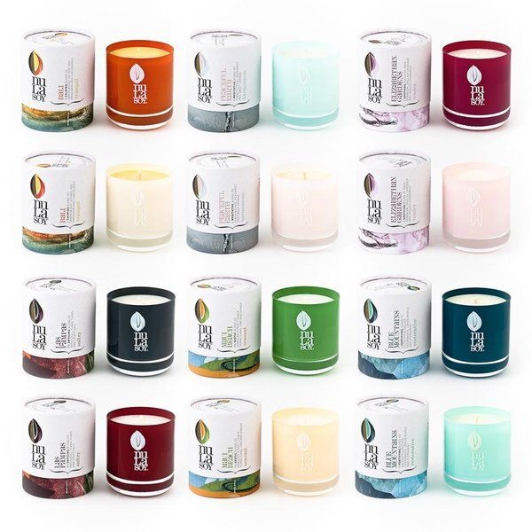 Nula soy candles
