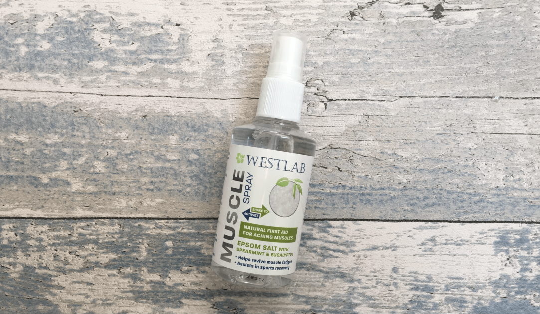 Westlab epsom salt muscle spray
