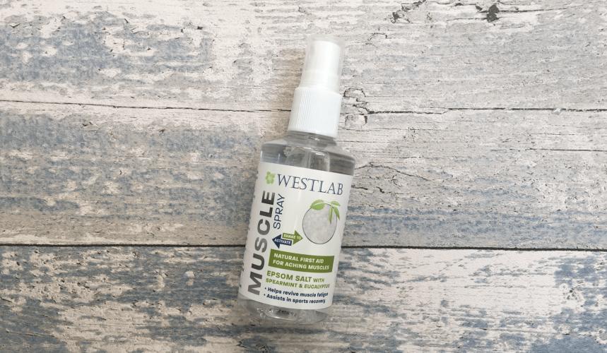 Westlab epsom salt muscle spray