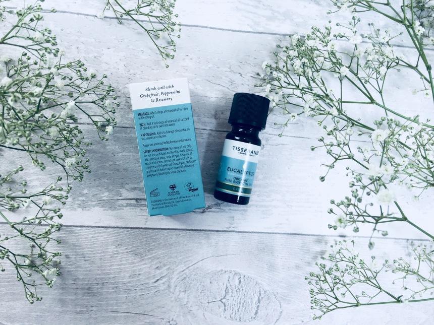 Tisserand eucalyptus organic pure essential oil