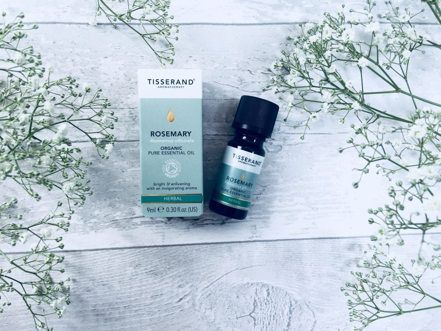 Tisserand rosemary organic pure essential oil