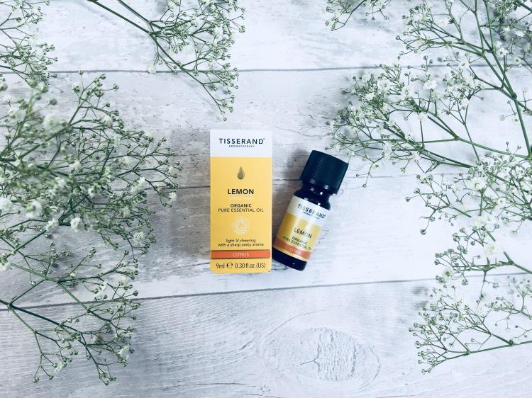 Tisserand lemon organic pure essential oil