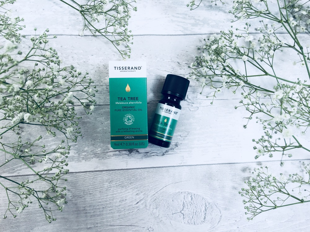 Tisserand tea tree organic pure essential oil