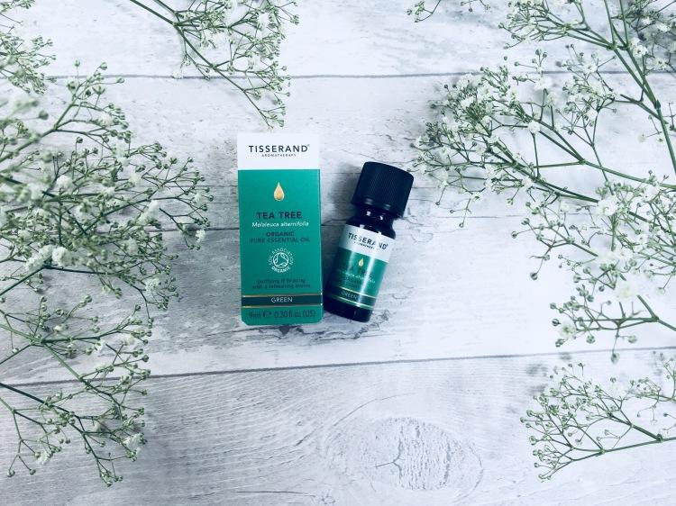Tisserand tea tree organic pure essential oil