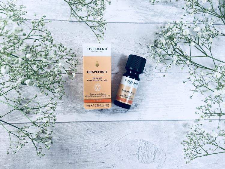 Tisserand grapefruit organic pure essential oil